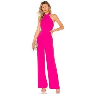 NWT NBD x Naven Olivia Jumpsuit in Magenta